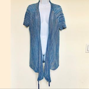 FREE PEOPLE⚡️Ruched Open Front Spring Cardigan_SP